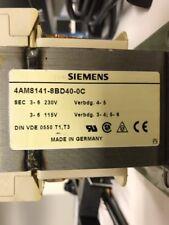 Siemens Transformer 4AM8141-8BD40-0C 115 Vac - 220 Vac