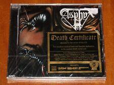 ASPHYX THE RACK CD *LTD* 2006 CENTURY MEDIA REISSUE w/BONUS LIVE TRACKS 1991 New