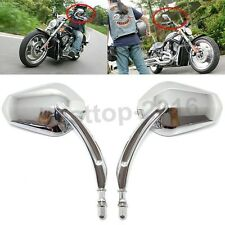 Rear View Mirrors For Harley Davidson Softail Springer Heritage Classic Chrome