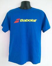 Babolat Tennis T-Shirt Cotton/Polyester ROYAL X-LARGE