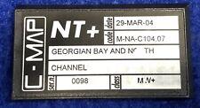 C Map NT+ NA-C104 Georgian Bay & North Channel Raymarine GPS MAP CARD RL70 RL80