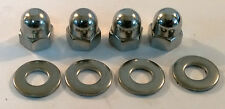 TOYOTA 1ZZ-FED 1.8 VVTI STAINLESS STEEL SPARK PLUG COVER NUTS MR2 COROLLA CELICA