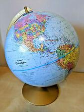 "Rare Vintage /Retro Replogle World Nation Series Spinning Globe 12"" Diameter EUC"