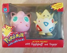 Nintendo Hasbro Pokemon action figures de 1990 S-Jigglypuff Togepi et RARE!