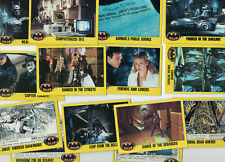 Batman 1989 - 14 Trading Cards - Topps 1989 - 2nd Series