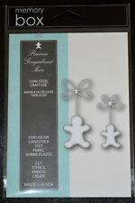 New Memory Box Cut Stencil Emboss Create PRECIOUS GINGERBREAD Die Style# 99042