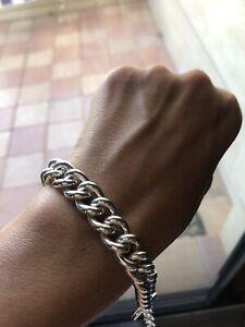 Thomas Sabo Heavy Link Sterling Silver Bracelet New