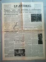 Fac similé Journal - LE JOURNAL 2 JUIN 1940