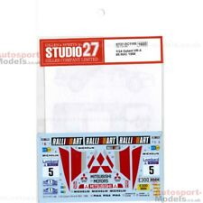 1/24 1988 Mitsubishi Galant VR-4 #5 Rally Rac Decal Set Studio 27 ~ DC1188