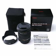 Sigma 17-50mm F2.8 EX DC OS HSM Zoom Lens for Nikon Mount #SI134X DWW