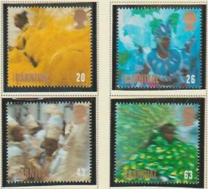 GREAT BRITAIN UK STAMPS 1998 NOTTING HILL CARNIVAL MNH - GB128