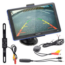 XGODY 7'' TRUCK CAR Navigation GPS Navigator + Wireless Rearview Camera 8GB MP3