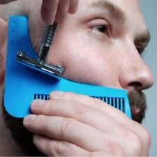Beard Shaping Shaving Men Template Styling Tool Comb Hair Shaper Goatee