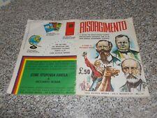 ALBUM RISORGIMENTO IMPERIA 1965 CON 182 FIGURINE ORIG. MB/OTT TIPO PANINI LAMPO