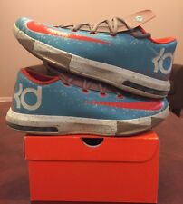 Nike Zoom Kd 6 Vi Blue Crab N7 Red Nerf Energy Splatter What Maryland 1 2 3 4 5