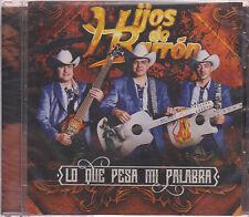 Lo Que Pesa Mi Palabra by Los Hijos De Barrón NEW (CD, Mar-2016, Fonovisa)