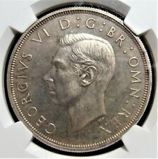 Great Britain: 1937 Silver Crown S-4079 NGC PF 64. KM-857