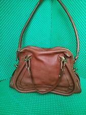 Chloe Paraty Medium shoulder bag Delight Brown Retail: $1950.00