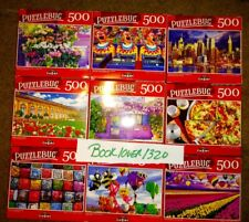 Lot of 5 500 Piece Jigsaw Puzzles Random Puzzles All new Sealed