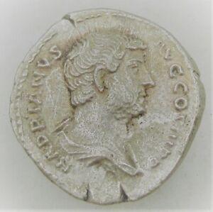 UNRESEARCHED ANCIENT ROMAN SILVER DENARIUS COIN 2.74G