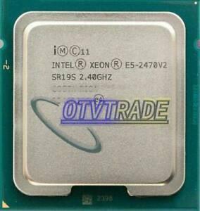 Intel Xeon E5-2470 V2 2.4 GHz 10-Cores SR19S LGA 1356 CPU Server Processor
