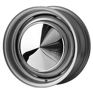 5.5 x 13 JBW Smoothie Steel Wheels Classic Mini Set of 4 Silver