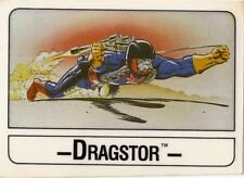 1986 MATTELL WONDER BREAD MASTERS OF THE UNIVERSE CARD DRAGSTOR
