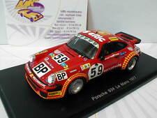 Spark S4750 - Porsche 934 No.59 24h LeMans 1977 Servanin,Ferrier,Hummel 1:43