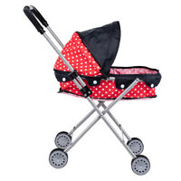 Baby Doll Stroller Shade Stroller, Can Fit Up to 20 inch Dolls and Stuffed