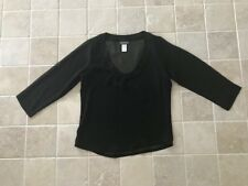 TOMMY BAHAMA, WOMENS DRESSY/ EVENING WEAR TOP, SIZE XS, BLACK, SEQUINS, #666