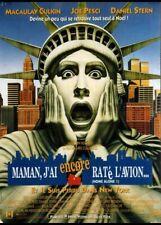 affiche du film MAMAN J'AI ENCORE RATE L'AVION 120x160 cm