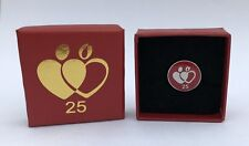 BNIB National Blood Service Enamel Donor Pin Badges - 25 Donations