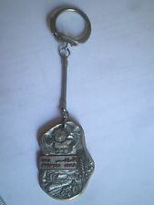 Tripoli LYBIA key ring,vintage key chain badge,طرابلس ليبيا Lībiyā souvenir