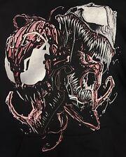 Marvel Comics LARGE Sweatshirt Hoodie - VENOM & CARNAGE! Spiderman Villains