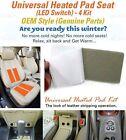 Universal Heated Pads Kit 4Seat (16Pad) Heater Car Truck SUV 12V Heating Warmer
