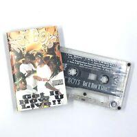 HOT BOY$ HOT BOYS Get It How U Live!! Cassette Tape 1997 Cash Money Rap Rare