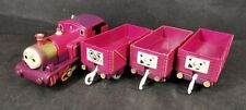 Lady with 3 x Troublesome Trucks Motorised Train Trackmaster Thomas And Friends