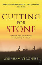 Cutting for Stone by Abraham Verghese (paperback)