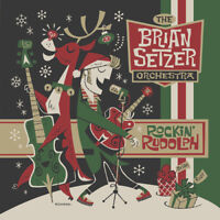 The Brian Setzer Orchestra : Rockin' Rudolph CD ***NEW*** FREE Shipping, Save £s