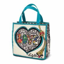 Brighton Summer of Love 1970s Style Artful Tote Bag With Tags Canvas