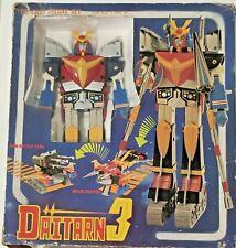 DAITARN 3 DX CLOVER popy chogokin takara jumbo st robot takatoku japan godaikin