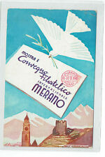 LENHART - MERANO - MERAN - MOSTRA  CONVEGNO FILATELICO INTERNAZIONALE - 1948