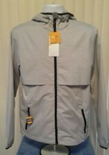 NWT Champion Water Resistant Packable Jacket Gray Men's Size Medium