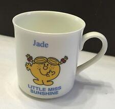 "NEW! Collectable Mister Men/Little Miss China Mug ""Jade Little Miss Sunshine"""