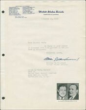 WILLIAM F. KNOWLAND - TYPED LETTER SIGNED 11/14/1945
