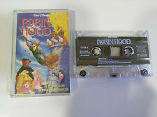 ROBIN HOOD CUENTO VOCES ORIGINALES CINTA TAPE CASSETTE WALT DISNEY 1996