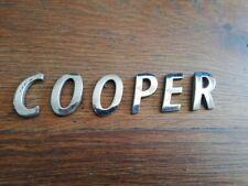 AUSTIN COOPER monogramme insigne emblème logo 100% original