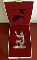 2001 SWAROVSKI MASQUERADE HARLEQUIN 01 AH. ANTON HIRZINGER. CRYSTAL FIGURINE.BOX