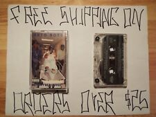 GETO BOYS WE CAN'T BE STOPPED CASSETTE W/ MIND PLAYING TRICKS ON ME