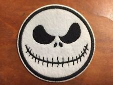 MISTER JACK The Nightmare Before CHRISTMAS Patch - Embroidered Iron On Patch 3 ""